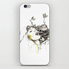 Bird Feeding iPhone & iPod Skin
