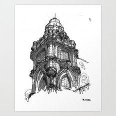 Pasaje Barolo Art Print