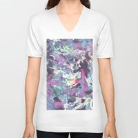 celestial V-neck T-shirts featuring Celestial by Wendy Ding: Illustration