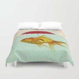 under cover goldfish 02 Duvet Cover