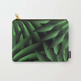 Green Fern Jungle Carry-All Pouch