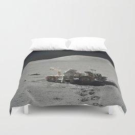 Apollo 17 - Lunar Rover Work Duvet Cover