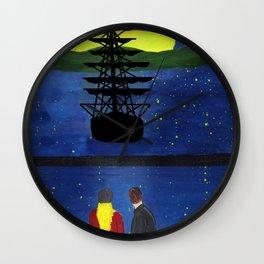 A quiet moment Wall Clock