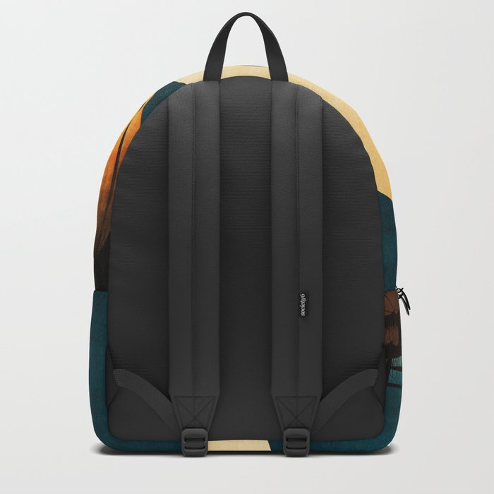 Halloween Is In The Air Backpack