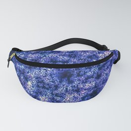 Queen Anne's Lace in Blue Fanny Pack