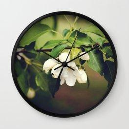 spring blossom. Wall Clock