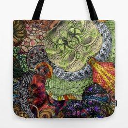 Psychedelic Botanical 10 Tote Bag