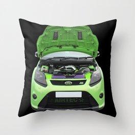 Green Focus RS Throw Pillow