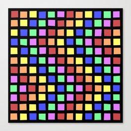 ROYGBV Tiles at Play Canvas Print