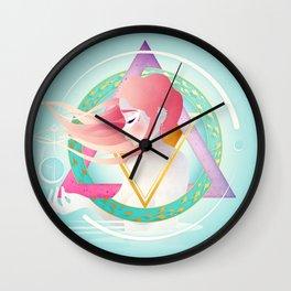 Zodiac Geometry :: Pisces Wall Clock