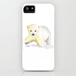 Little Polar Bear iPhone Case