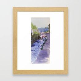 Rennes-les-Bains Framed Art Print