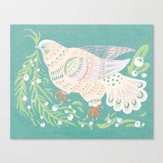 Holiday Dove Canvas Print