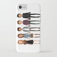 cargline iPhone & iPod Cases featuring The gang by cargline