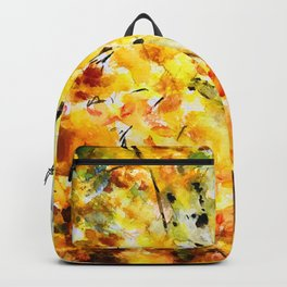 Autumn birch Backpack
