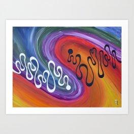 Harmony Resonates Art Print