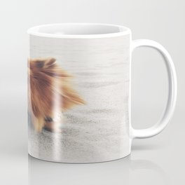 Beach Life Pomeranian Coffee Mug