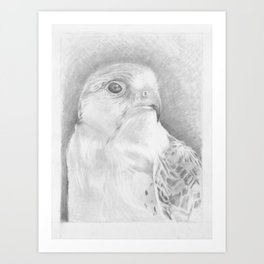 Falcon Punch Art Print