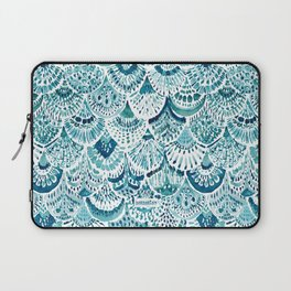 MERM ARMOR Indigo Mermaid Scales Laptop Sleeve