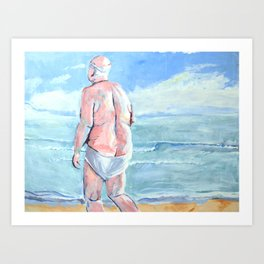 droopy drawers Art Print