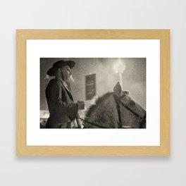 Feira da Golegã 2015 2 Horse Framed Art Print