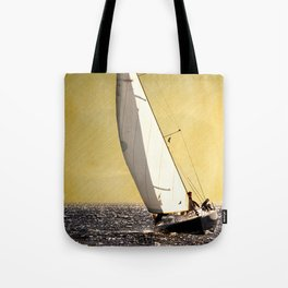 race boat Tote Bag