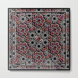 Digital Crochet As Art Metal Print