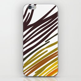 Wild tiger EXOTIC LINES iPhone Skin