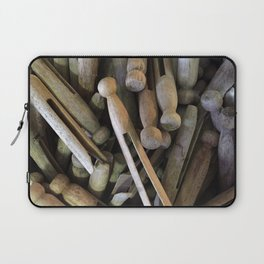 When Pins Were for Laundry, Not Images Laptop Sleeve