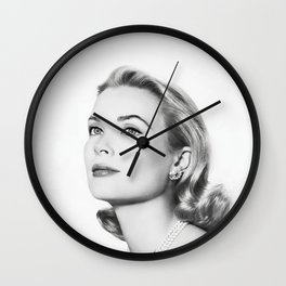 Grace Kelly Wall Clock