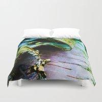 birch Duvet Covers featuring birch by Jeni Decker
