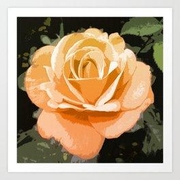 Amber Rose Art Print