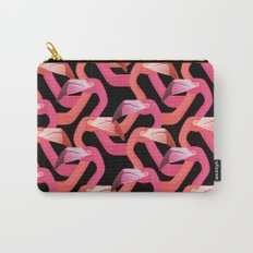 Woven flamingoes Carry-All Pouch