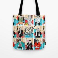 Born Hater Tote Bag