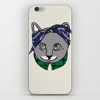 archer iPhone & iPod Skins featuring Archer by YEAH RAD STOKED
