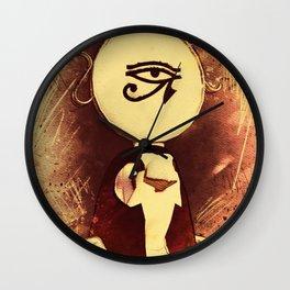 Horus - Falcon God of Ancient Egypt Wall Clock