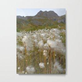 Windy Meadow Metal Print