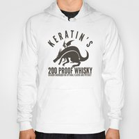 whisky Hoodies featuring Keratin's Dragon Distilled Whisky by critjuice