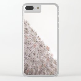 half and half Clear iPhone Case
