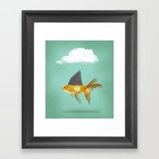 Under A Cloud Framed Art Print