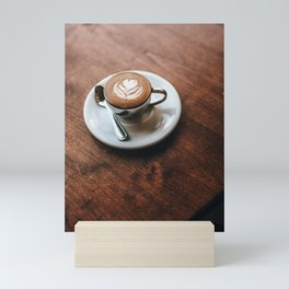 Latte Art IV Mini Art Print