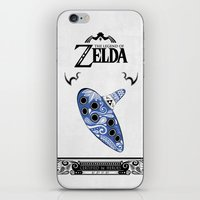 majora iPhone & iPod Skins featuring Zelda legend - Ocarina of time by Art & Be