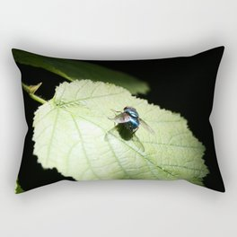 Flies can be pretty too Rectangular Pillow