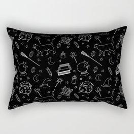 Witchy pattern Rectangular Pillow