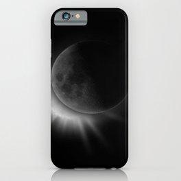 Black Moon iPhone Case