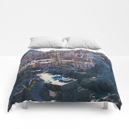Cinque Terre, Italy Comforters