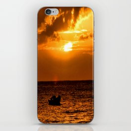 I Want To Live As I Have Never Lived iPhone Skin