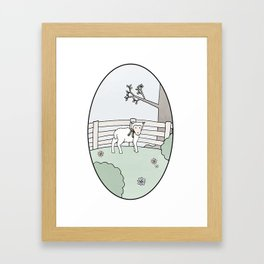 Special Sheep Framed Art Print