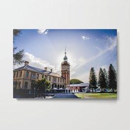 Newcastle, NSW, Australia Customs House Metal Print
