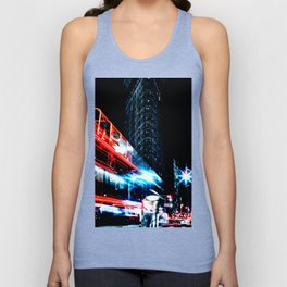 Lights of the City Unisex Tank Top